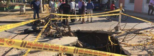 Tramo de alcantarillado sanitario colapsado en el barrio las Tunas será reparado