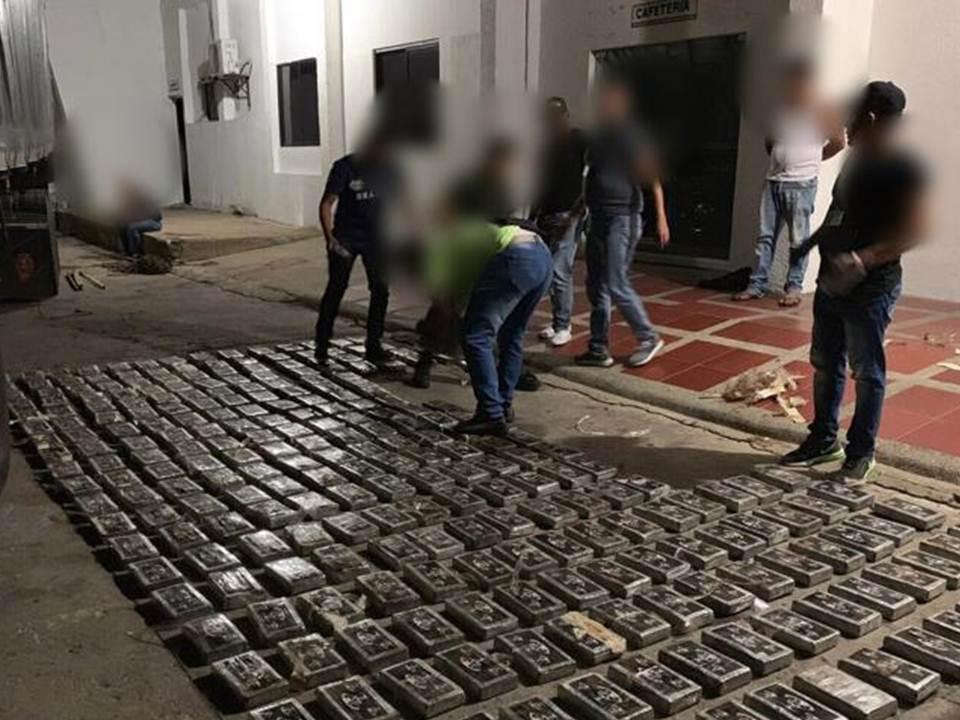 Cayó cargamento con más de 870 kilos de cocaína en Riohacha