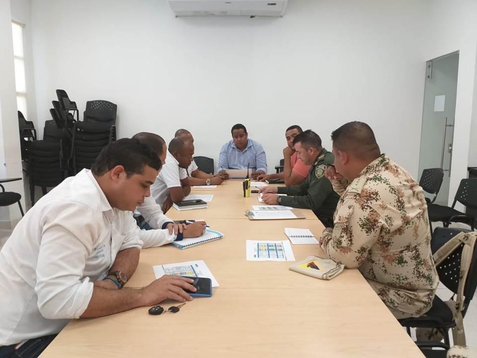 Autoridades de Riohacha realizaron primer Consejo de Seguridad del año