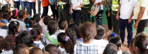 """""""Ey Primo Vamos A Estudiar"""", campaña educativa en Riohacha"""