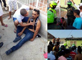 Comunidad capturó presunto ladrón de carros en Riohacha