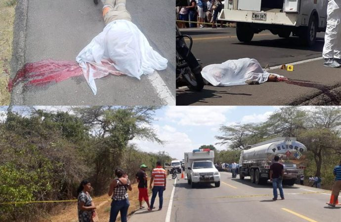 Sujetos asesinan una persona en medio de un atraco en la vía Riohacha – Maicao