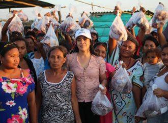 Gestora Social entregó más de 8 toneladas de carne y 8 mil litros de leche a familias vulnerables de Riohacha