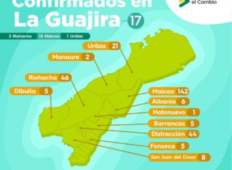 17 nuevos casos de COVID19 en La Guajira