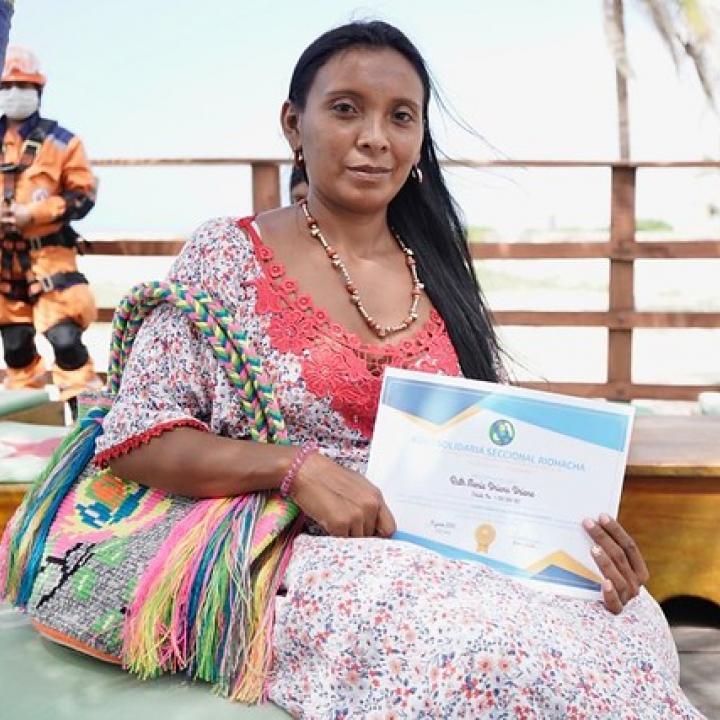 Artesanas wayúu se certificaron en economía solidaria en La Guajira
