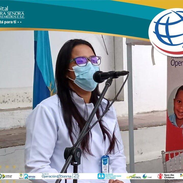 Cirugías reconstructivas a 35 niños por parte de Fundación Operación Sonrisa en el Hospital Nuestra Señora de Los Remedios