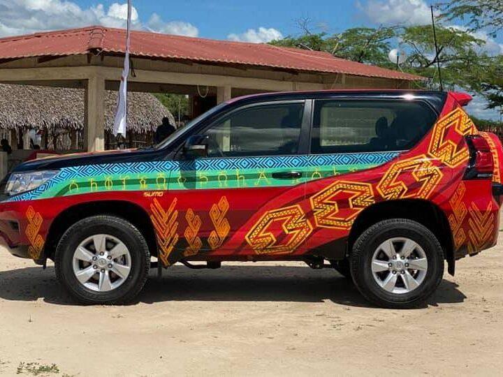 En un evento Toyota presentó la nueva Prado Sumo en La Guajira