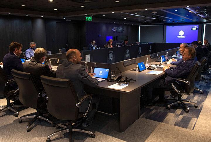 Consejo se reúne en la víspera de la inauguración de mejoras en la sede Conmebol