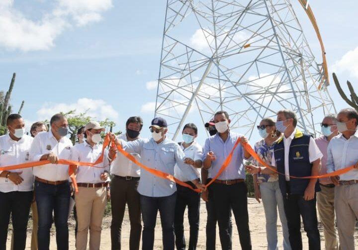 """""""Con el Refuerzo Eléctrico de La Guajira, el departamento contará con energía confiable para impulsar su reactivación"""", Presidente Iván Duque Márquez"""