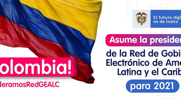 Colombia asume la presidencia de la Red de Gobierno Electrónico de América Latina y el Caribe