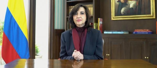 Canciller Claudia Blum, sobre citación de la Comisión Asesora de Relaciones Exteriores