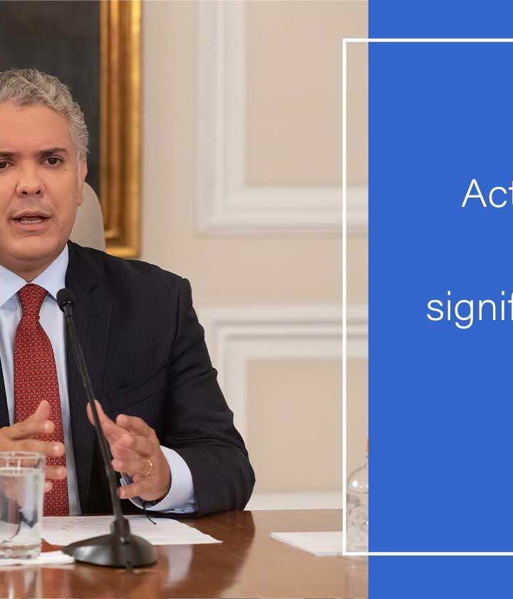 Actuar en diciembre con disciplina ciudadana, significa iniciar el 2021 con reactivación segura: Presidente Duque