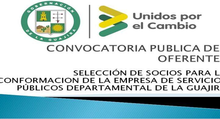 Convocatoria Pública de Oferentes No. 001 -2020