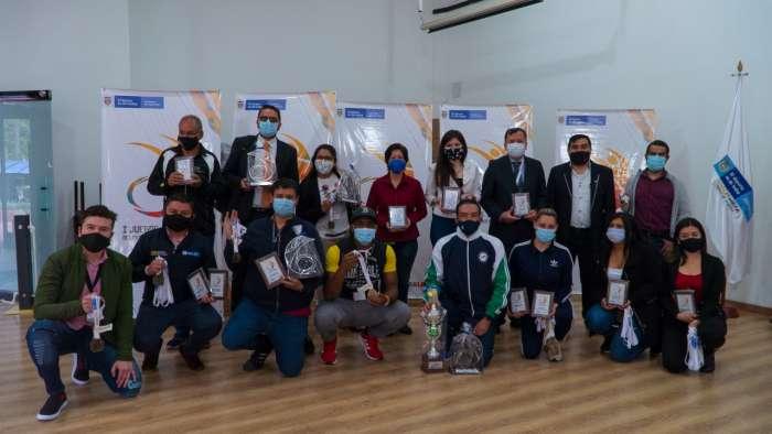 Mindeporte premió a los ganadores de los I Juegos Virtuales de los Servidores Públicos 2020