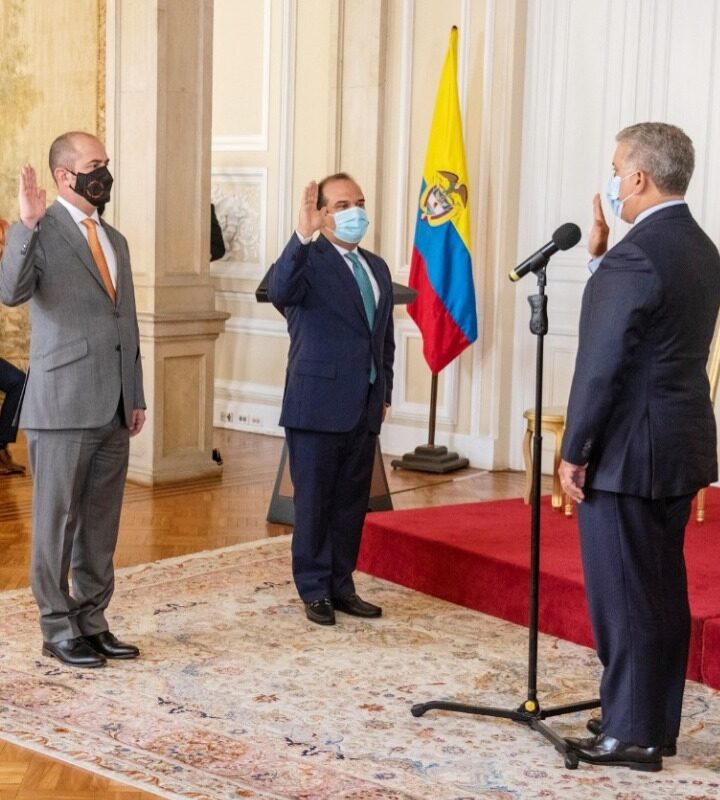 Felipe Buitrago Restrepo, se posesionó hoy como nuevo ministro de Cultura
