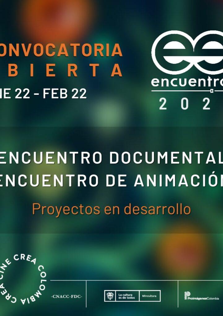 Abierta la convocatoria Encuentros 2021: Encuentro documental y Encuentro de animación