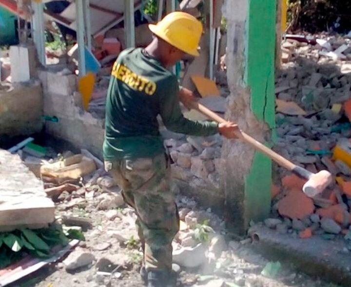 Inician demoliciones en Providencia para construcción de viviendas nuevas en la isla