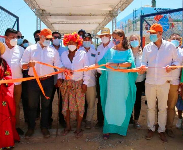 Guajira Azul con obras y resultados: 15 proyectos terminados y 14 más en ejecución