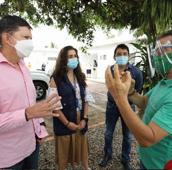 Ministro Wilson Ruiz anuncia programas de prevención de consumo de drogas para comunidades étnicas