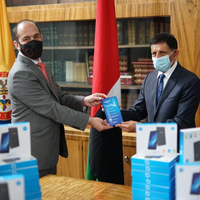 Gobierno de Emiratos Árabes Unidos donó 150 tabletas a MinCultura para Programa Nacional de Bibliotecas Itinerantes
