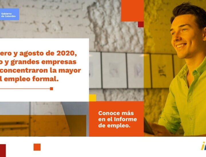 MinComercio, a través de iNNpulsa, y MinTrabajo presentan estudio de comportamiento de empleo durante 2020 con información clave para la reactivación