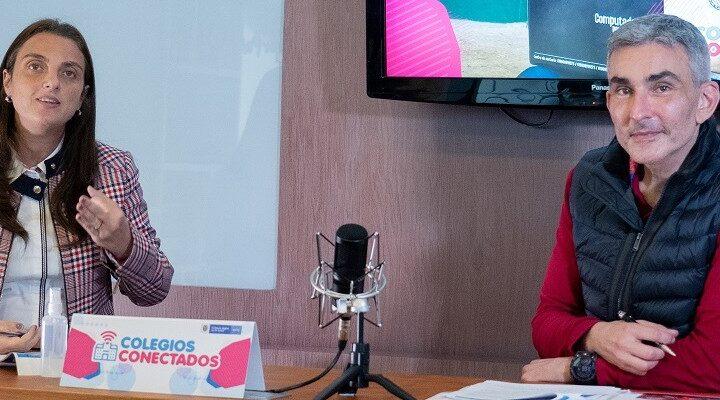 """""""140 mil embajadores de la tecnología ayudarán a que colegios públicos y comunidades rurales le saquen el jugo a la internet"""": ministra Karen Abudinen"""