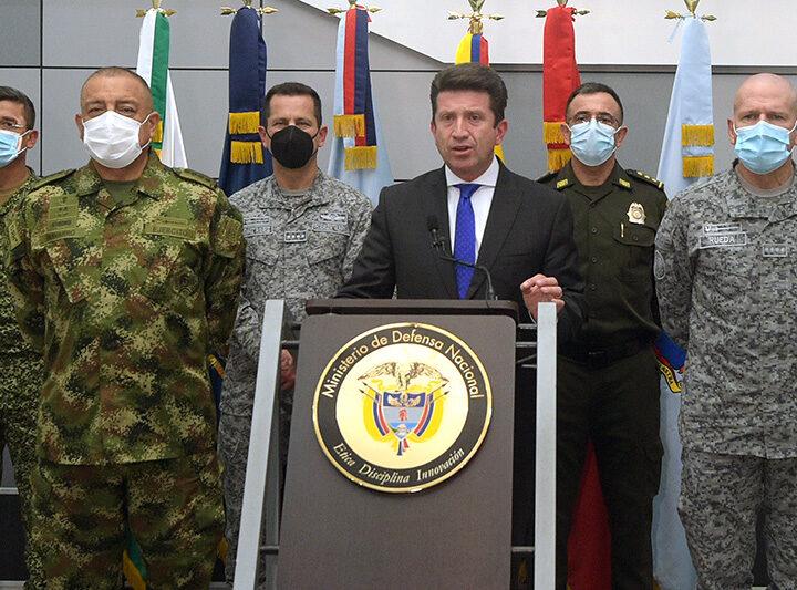 'El apoyo de Estados Unidos a Colombia sigue vigente y se fortalece para liberar al país del flagelo del narcotráfico': Ministro Molano