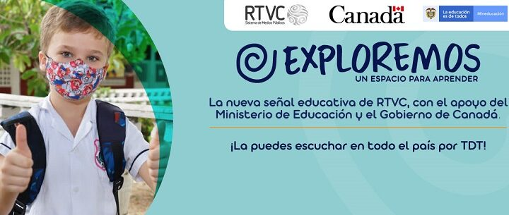 RTVC y el Ministerio de Educación presentan 'Exploremos', el nuevo canal educativo que funcionará por TDT
