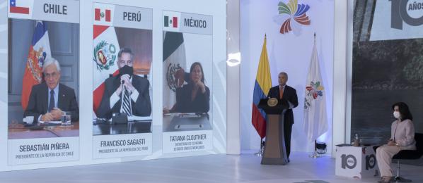 Canciller Claudia Blum ratificó el compromiso de Colombia con una Alianza del Pacífico cada vez más integrada, más conectada, más global y más ciudadana
