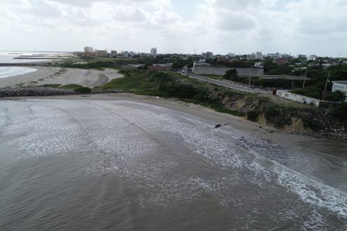 Palomino en calamidad pública por erosión costera