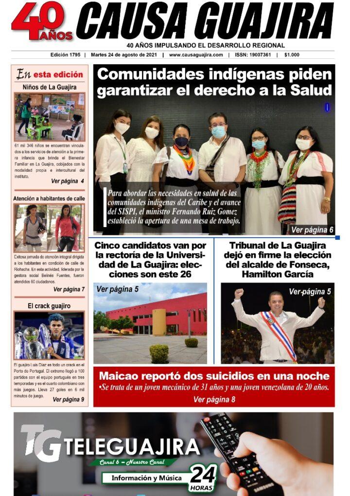Nuestra edición de hoy martes 24/08/2021