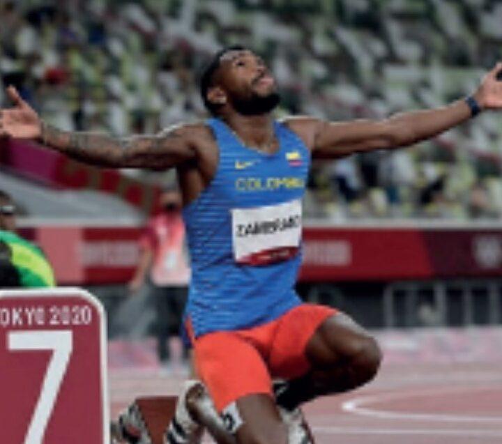 El atleta guajiro, Anthony Zambrano, clasificó a la final de los 400 metros en los Juegos Olímpicos